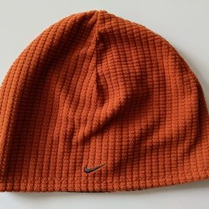 Women's Nike fleece exercise hat beanie OS